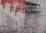 iimprint - Beneath the surface ( Individual panel no 2) by Rebecca Turk-Richards, Painting, Oil on panel